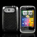 Coque HTC Wildfire S G13 A510e Diamant TPU Gel Housse - Gris