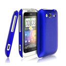 Coque HTC Wildfire S G13 A510e Plastique Etui Rigide - Bleu