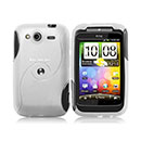 Coque HTC Wildfire S G13 A510e S-Line Silicone Gel Housse - Blanche