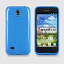 Coque Huawei Ascend G300 U8815 U8818 Silicone Gel Housse - Bleue Ciel