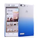 Coque Huawei Ascend G6 Degrade Etui Rigide - Bleu