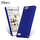 Coque Huawei Ascend G6 Plastique Etui Rigide - Bleu
