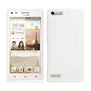 Coque Huawei Ascend G6 S-Line Silicone Gel Housse - Blanche