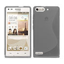 Coque Huawei Ascend G6 S-Line Silicone Gel Housse - Gris