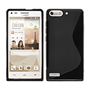 Coque Huawei Ascend G6 S-Line Silicone Gel Housse - Noire
