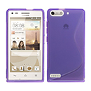 Coque Huawei Ascend G6 S-Line Silicone Gel Housse - Pourpre