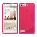 Coque Huawei Ascend G6 S-Line Silicone Gel Housse - Rose Chaud