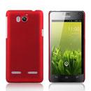 Coque Huawei Ascend G600 U8950D Plastique Etui Rigide - Rouge