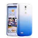 Coque Huawei Ascend G610 Degrade Etui Rigide - Bleu