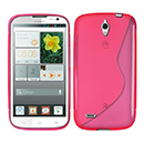Coque Huawei Ascend G610 S-Line Silicone Gel Housse - Rose Chaud