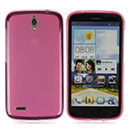 Coque Huawei Ascend G610 Silicone Transparent Housse - Rose