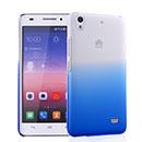 Coque Huawei Ascend G620S Degrade Etui Rigide - Bleu