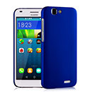 Coque Huawei Ascend G7 Plastique Etui Rigide - Bleu