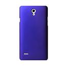 Coque Huawei Ascend G700 Plastique Etui Rigide - Bleu