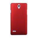 Coque Huawei Ascend G700 Plastique Etui Rigide - Rouge