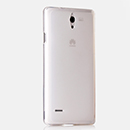 Coque Huawei Ascend G700 Silicone Transparent Housse - Blanche