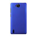 Coque Huawei Ascend G740 Plastique Etui Rigide - Bleu