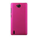 Coque Huawei Ascend G740 Plastique Etui Rigide - Rose Chaud