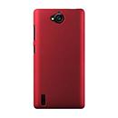 Coque Huawei Ascend G740 Plastique Etui Rigide - Rouge