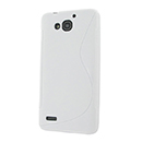 Coque Huawei Ascend G750 S-Line Silicone Gel Housse - Blanche