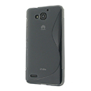 Coque Huawei Ascend G750 S-Line Silicone Gel Housse - Gris
