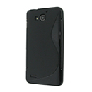 Coque Huawei Ascend G750 S-Line Silicone Gel Housse - Noire