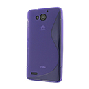 Coque Huawei Ascend G750 S-Line Silicone Gel Housse - Pourpre