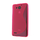 Coque Huawei Ascend G750 S-Line Silicone Gel Housse - Rose Chaud