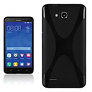 Coque Huawei Ascend G750 X-Style Silicone Gel Housse - Noire