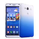 Coque Huawei Ascend GX1 Degrade Etui Rigide - Bleu