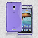 Coque Huawei Ascend Mate 2 S-Line Silicone Gel Housse - Pourpre