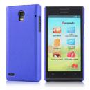 Coque Huawei Ascend P1 U9200 Plastique Etui Rigide - Bleu