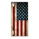 Coque Huawei Ascend P7 Le drapeau des Etats-Unis Etui Cover - Mixtes