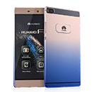Coque Huawei Ascend P8 Degrade Etui Rigide - Bleu