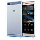 Coque Huawei Ascend P8 Silicone Transparent Housse - Bleue Ciel