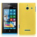 Coque Huawei Ascend W1 Windows Phone Plastique Etui Rigide - Jaune