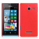 Coque Huawei Ascend W1 Windows Phone Plastique Etui Rigide - Rouge