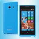 Coque Huawei Ascend W1 Windows Phone Silicone Gel Housse - Bleue Ciel