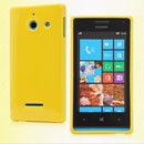 Coque Huawei Ascend W1 Windows Phone Silicone Gel Housse - Jaune