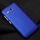 Coque Huawei Ascend Y511 Plastique Etui Rigide - Bleu
