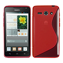 Coque Huawei Ascend Y530 S-Line Silicone Gel Housse - Rouge