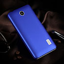 Coque Huawei Ascend Y635 Plastique Etui Rigide - Bleu