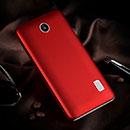 Coque Huawei Ascend Y635 Plastique Etui Rigide - Rouge