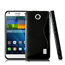 Coque Huawei Ascend Y635 S-Line Silicone Gel Housse - Noire