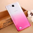 Coque Huawei Honor 3C Degrade Etui Rigide - Rose Chaud