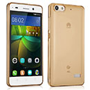 Coque Huawei Honor 4C Silicone Transparent Housse - Golden