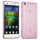 Coque Huawei Honor 4C Silicone Transparent Housse - Rose