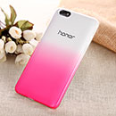 Coque Huawei Honor 4X Degrade Etui Rigide - Rose Chaud