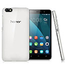 Coque Huawei Honor 4X Transparent Plastique Etui Rigide - Clear
