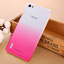 Coque Huawei Honor 6 Degrade Etui Rigide - Rose Chaud